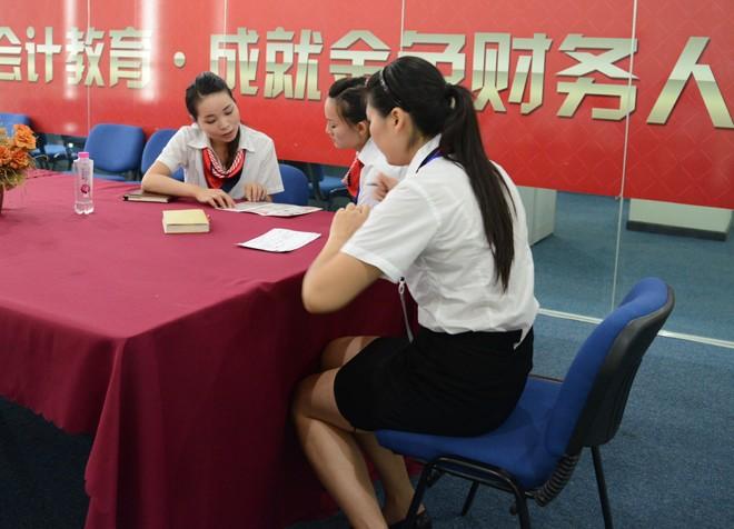 蚌埠仁和会计培训学校-一对一服务