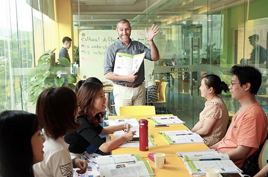 武汉美联英语培训学校-上课实景