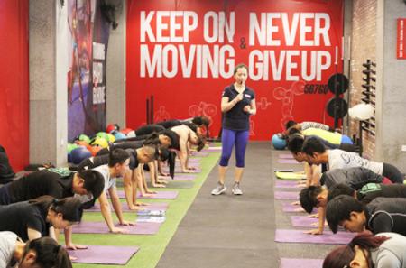 北京567go健身学院-训练场地