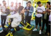 西安创体健身教练合乐彩票app学校-教学课堂