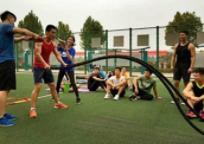西安创体健身学院-校园球场