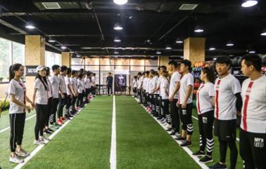西安567go健身学院-课堂训练