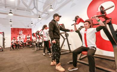 南京567go健身学院-训练场地