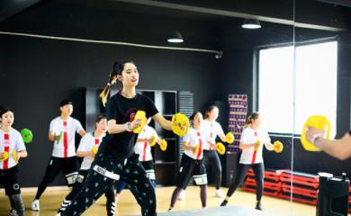 杭州567go健身学院-上课实景