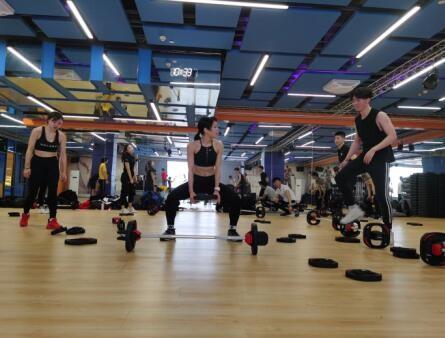 武汉鲨丘健身教练betway体育app班-学员实训