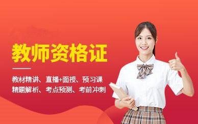 阜阳教师资格证万博网页版登录班