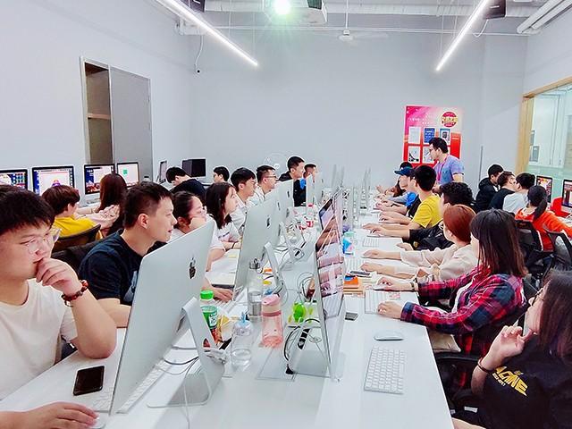 重庆火星时代教育-学校环境